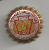 1930's Stegmaier Gold Medal Bottle Cap - Wilkes-Barre, PA - Unused