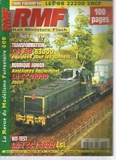 RMF N°409 bb 22200 SNCF / BB 63000 EQUIPES POUR LES TUNNELS / AMELIORER CC 21000