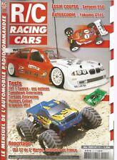 R/C RACING CAR N°111 TXT 1 TAMIYA / TOMAHAWK AVIORACING / TORNADO AVIORACING