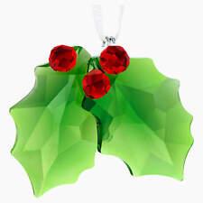 Swarovski Holly Ornament Mib #5286155