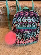 Justice Girl's Backpack Tote Shoulder Bag Purse