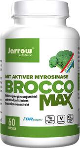 Jarrow BroccoMax, Brokkolisamenextrakt, 60 Kapseln (87,28€ pro 100 g)
