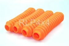 Shock absorber Boots - Orange x 4 - Pro Comp, Trailmaster, Rough Country