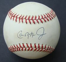 CAL RIPKEN Signed  Baseball AUTO  JSA  Full Signature