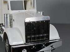 Aluminum Front Hood Stone Deflector Plate for Tamiya RC 1/14 King Grand Hauler