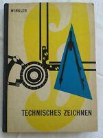Technisches Zeichnen, Fachbuch 1967, Geräte- und Maschinenzeichnen