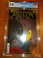 Dark Nights Death Metal #4 Capullo Foil Cover CGC 9.8 NM/M Batman Watchmen 1st P