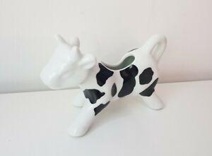 Black And White Friesian Cow Creamer Jug