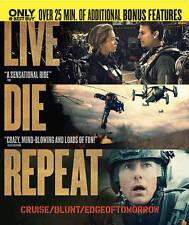 Edge of Tomorrow Live Die Repeat Blu-ray Disc Digital 2014 Sealed