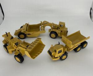 ERTL - Diecast Caterpillar 631E, 988B & D350D 1:50 Construction Trucks Lot of 3