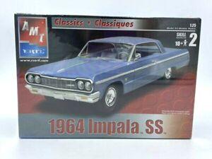 AMT ERTL Classics 1964 Chevy Impala SS 1/25 Model Kit Sealed 31789