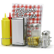 Mom's Diner Kitchen Accessory Set Retro Style Tableware