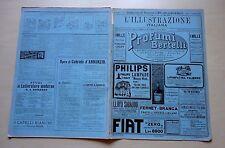 L' ILLUSTRAZIONE ITALIANA 1915 N° 19 D'ANNUNZIO  QUARTO Inserto NONELLINI Plinio