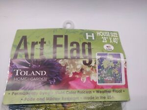"""Toland Daffodil Bouquet Home Flag - 28"""" x 40"""" - Made in USA - Weather Proof"""