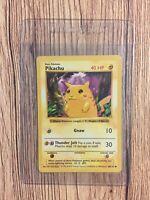 Pokemon Pikachu 1999 Base Set 58/102 Red Cheek ERROR/MISPRINT Shadowless Played