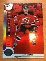UPPERDECK 2017-2018 RED SHINING STARS TAYLOR HALL HOCKEY CARD SSL-2
