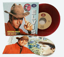Elvis Presley - Guitar Man / Help Me 45 RPM PURPLE Vinyl + CD - RAR