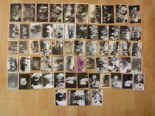 Konvolut Sammlung 61 x altes Foto alte Fotos Menschen Personen DDR Ausflug Feier