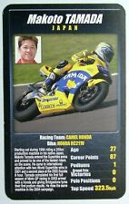 1 x card Top Trumps MotoGP The riders Makoto Tamada Japan