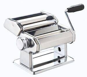 New Pasta Machine Maker Lasagne Spaghetti Stainless Steel Cutter Blades Chrome