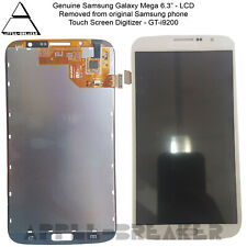 """LCD Display Touch Screen Digitizer For Samsung Galaxy Mega 6.3"""" GT-i9200 White"""