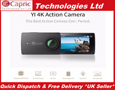 Xiaomi Yi 4K Sports Action Camera Black (International Specs) Eng Version A9SE