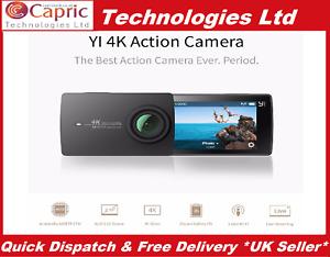 Xiaomi Yi 4K Sports Action Camera Black (International Specs) Eng Version A9SE