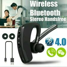 Wireless Bluetooth 4.0 HandsFree Car Kit Headset Music Headphone Voice Earpiece