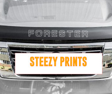 SUBARU FORESTER Lip Bonnet Protector Sticker Decal