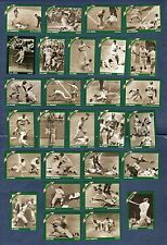 DIAMOND ACTION: Complete 28-card baseball set 1930s~1940s~1950s~1960s NM/Mint