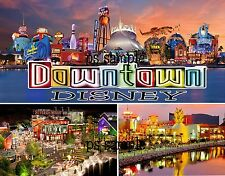 Florida - DOWNTOWN DISNEY - Travel Souvenir Fridge MAGNET