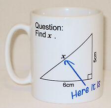 Find X Maths Question Mug Can Personalise Funny Teacher Gift Mathematics Present