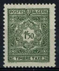 Algeria 1947-55 SG#D288, 1f50 Grey Olive Postage Due MH #E90953