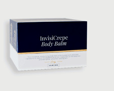 City Beauty INVISI-CREPE BODY BALM. New Mfg date. Full 4oz Size. Sealed Box& Tub