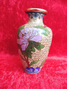 Belle, vieux Vase Cloisonne __