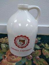 Vintage Cornell University Handled Ceramic 1 Gallon Jug