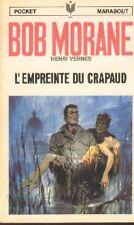 BOB MORANE 89 EO E.O Pocket Marabout L'empreinte du Crapaud Henri VERNES livre