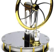 Polished Stirling engine self build kit hot air n steam