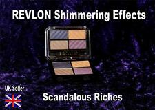REVLON quad eyeshadow SCANDALOUS RICHES shimmering effects