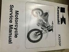 2009 Kawasaki Kx250F Kx 250 F Service Repair Shop Workshop Manual New 2009