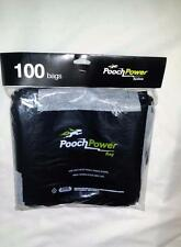 Pooch Power Bag 100 Count Disposable Pet Waste Bags New