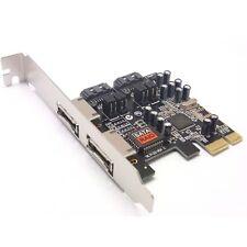 PCI-e PCI express to eSATA SATA RAID Sil3132 3132 controller Card Adapter