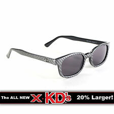 X-KD's Carbon Fiber Frame Smoke Lens Sunglasses XKD Motorcycle Riding Glasses