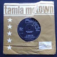"""MARVIN GAYE KIM WESTON It Takes Two / Miracle MOTOWN UK Original A-1/B-1 7"""" 45"""