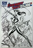 IDW DANGER GIRL G.I. JOE (2012) #4 Campbell Sketch Variant VF/NM Ships FREE!