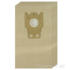 5 x Paper GN Type Hoover Bags For MIELE S8000 S8 Series Vacuum