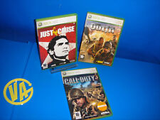 jeux XBOX 360 Lot de 3 Jeux Xbox 360 JUST CAUSE-LE COSTUME-APPEL de DUTY 3