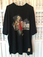 """Ecko Unltd. men's large black graphic cotton T-shirt, """"fresh out the Box"""", G28"""