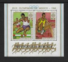 1968 Burundi: Olympic Games SG MS406 Unmounted Mint