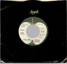 Ringo Starr: Only You/Call Me, 7 in Single